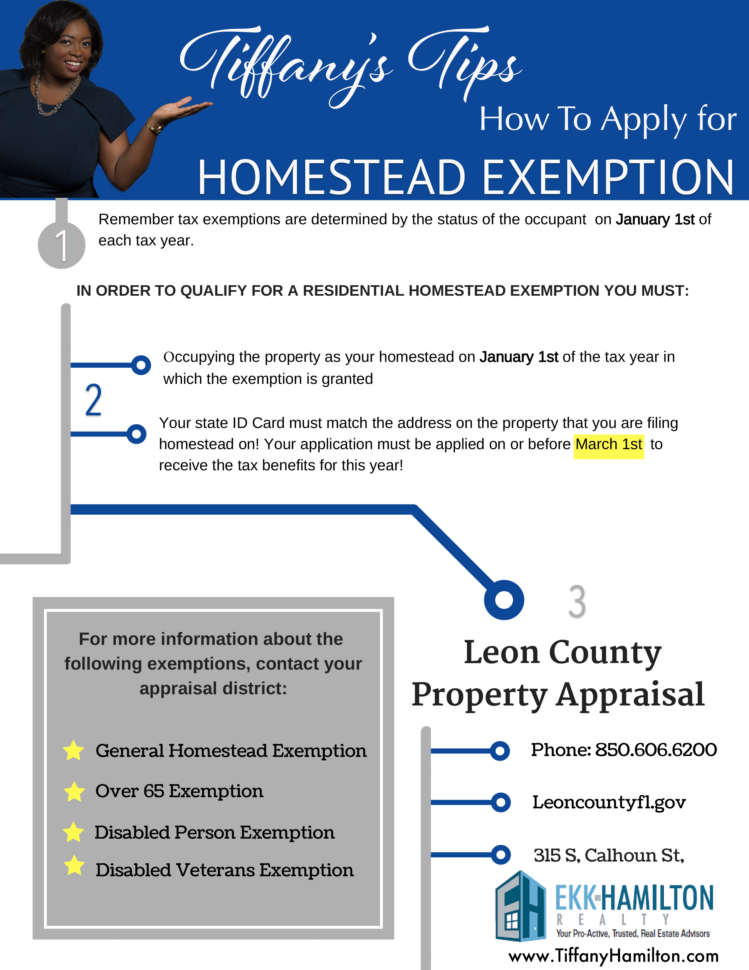 Florida Homestead Exemption Deadline March 1 Don't forget to file. Here is how to